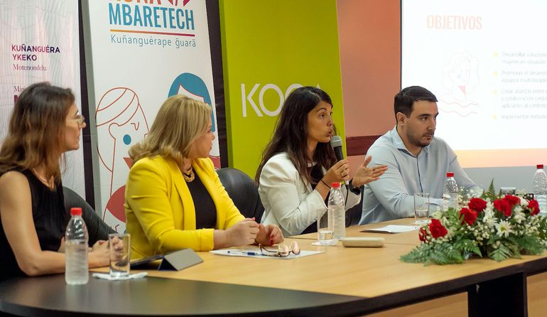 Se buscan soluciones digitales para mujeres en estado de vulnerabilidad.