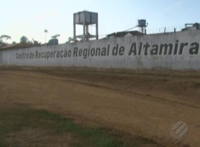 El exterior de la cárcel de Altamira, en el estado brasileño de Pará.