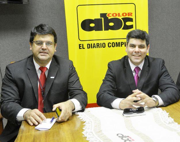 Miguel Oro (d) y José Caballero, afectados por la imputación.