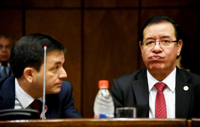 El imputado diputado Miguel Cuevas (d) no quiere presentarse a declarar en la Fiscalía.