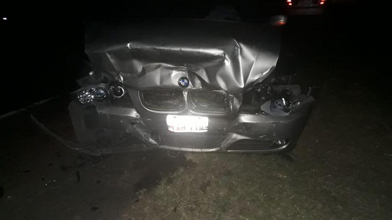 Accidente en Sapucai en que estuvo involucrado uno de los hijos del senador Juan Darío Monges.