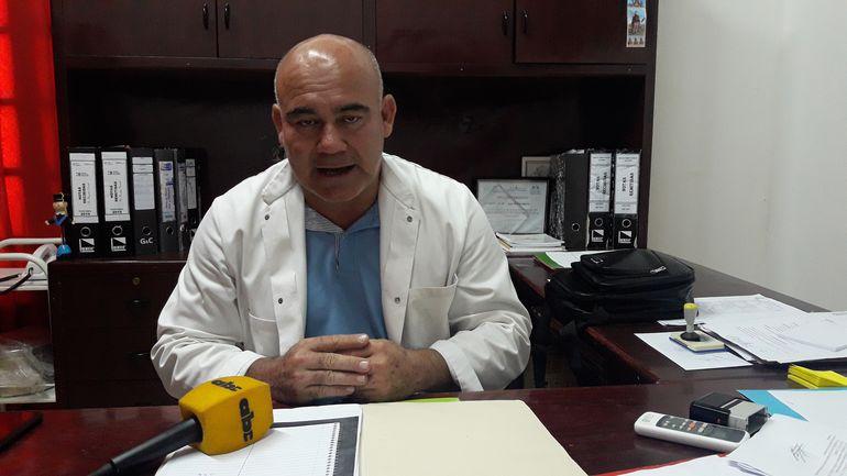 Dr Ricardo Brassel, director de la segunda región sanitaria.