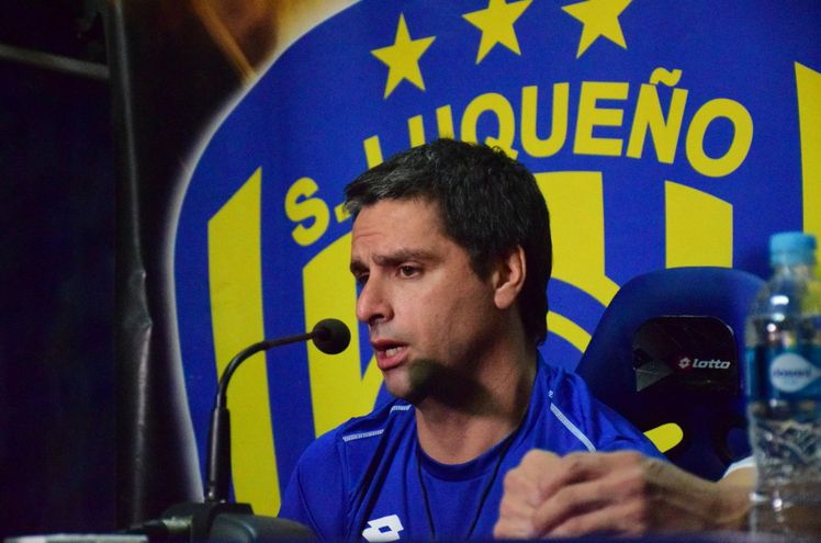 Luqueño es el segundo club en la carrera como técnico de Hernán Rodrigo López (42), después de Racing de Montevideo.