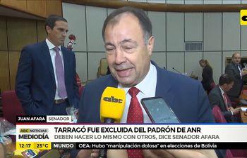 """""""Si le excluyen a Tarragó deben hacer lo mismo con otros"""""""