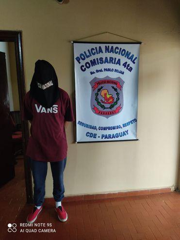 El joven aprehendido está sindicado de herir a Nicolás Clerch Almada durante un encuentro de amigos.