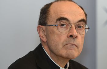 El cardenal Philippe Barbarin, arzobispo de Lyon.