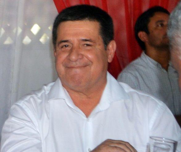 Horacio Cartes.