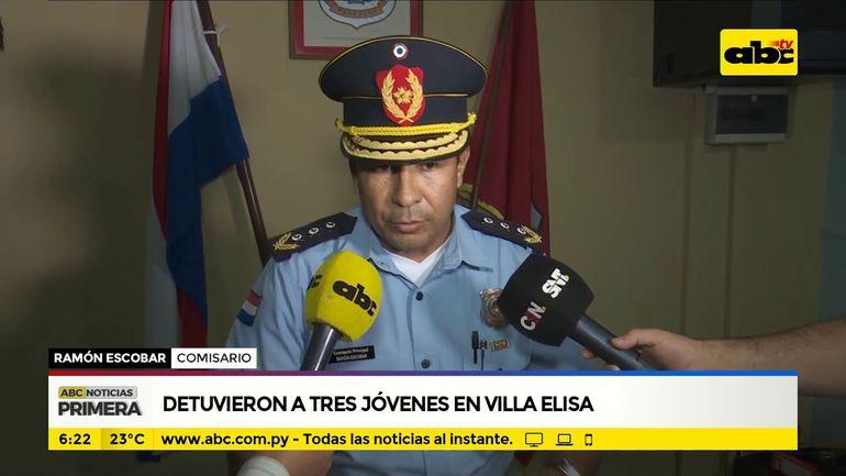 Detuvieron a tres jóvenes en Villa Elisa - ABC Noticias - ABC Color