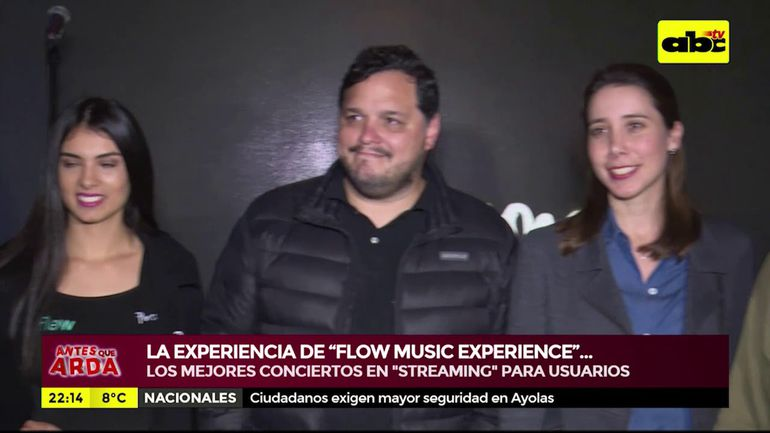 "La experiencia 'streaming' de ""Flow Music Experience"""