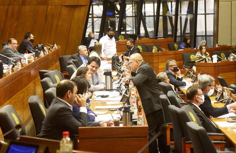 El titular de Diputados Pedro Alliana (ANR,cartista) dio su informe ayer ante el pleno al cierre de su gestión 2019-2020. El 1° de julio reasume porque fue reelecto por un año más.