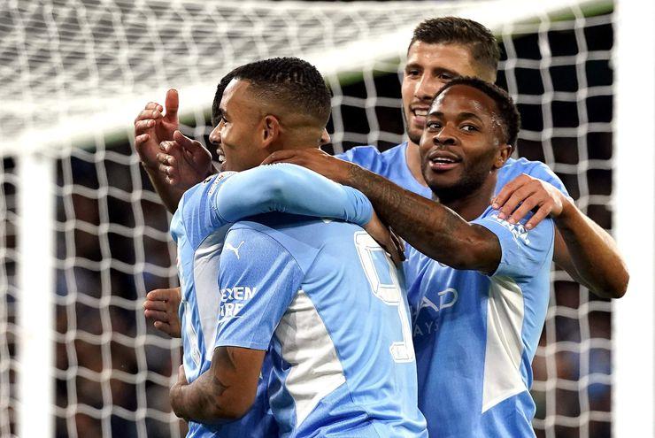Manchester City goleó al Leipzig