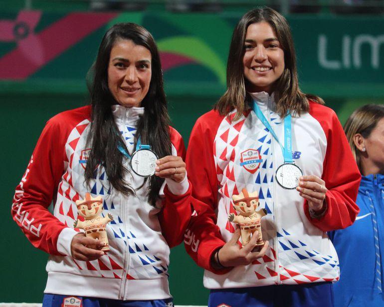 Verónica Cepede y Montserrat González ganaron la medalla de plata en Lima 2019.