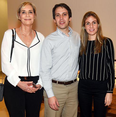 María José Zubizarreta, Gerónimo Vargas Peña y Sol Mendieta.