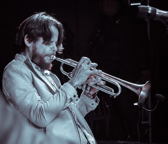 El trompetista venezolano Jonathan Piñero.