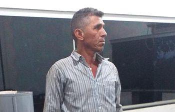 Teodoro Antúnez, capataz brasileño de 50 años, liberado esta mañana.