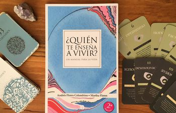 Libro presentado por la psicóloga en Paraguay.