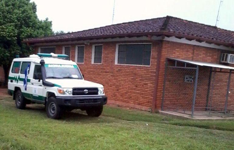 La ambulancia de Yuty descompuesta desde hace más de un mes y medio.