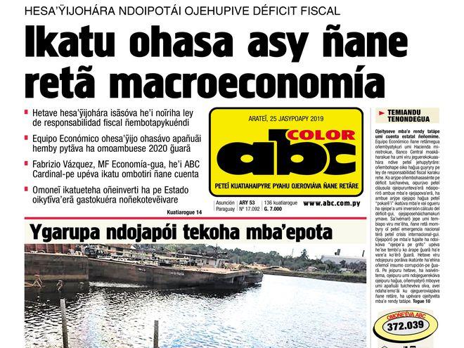 El ejemplar de ABC Color es infaltable este domingo en el hogar de cada paraguayo.