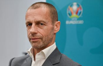 Ceferin, titular de la UEFA.