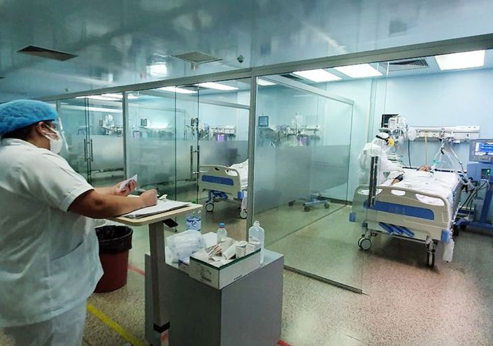 El Hospital Integrado tiene ahora menos camas ocupadas.