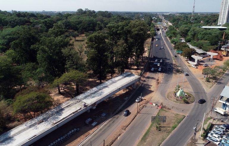 Proponen acelerar la ejecución de las obras del  corredor vial del Jardín Botánico, como una de las medidas para reactivar la economía pospandemia.