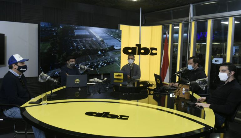 Eduardo Nakayama y Sebastián García, en los estudios de ABC Cardinal.