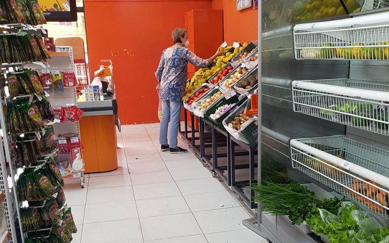 Los bonos podrán ser usados en supermercados y almacenes con pos.