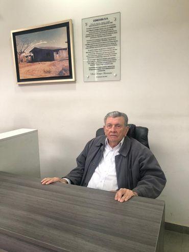 Luis Alberto Lavigne Gaona, fundador de Concasa.