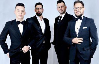 El cuarteto pop lírico Andantinos se presentará hoy en la ciudad de Itauguá.