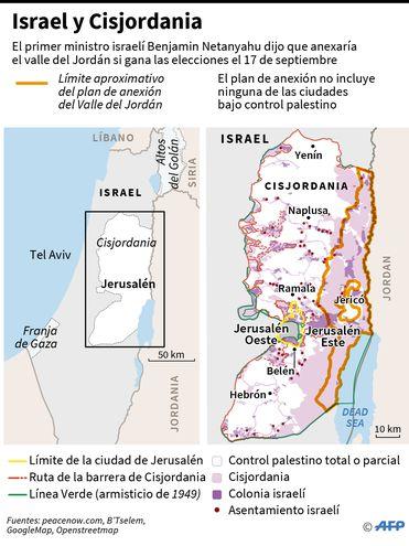Israel y Cisjordania