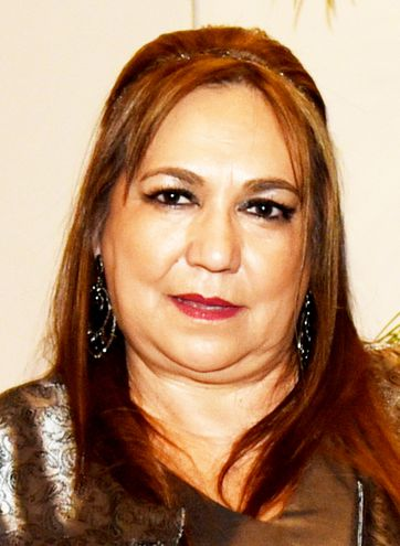 Egidia Gómez, agente del Ministerio Público.