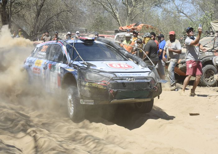 El Rally del Chaco fue postergado dos semanas.