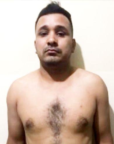 Ederson Salinas Benítez, alias Ryguasu, supuesto jefe narco preso en Brasil.