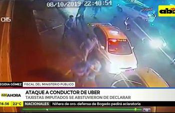 Ataque a conductor de Uber