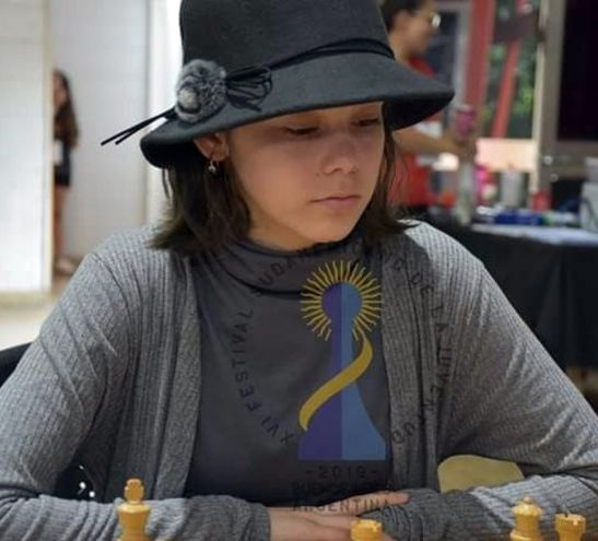 Helen Montiel, de 13 años, con otro éxito en su corta carrera.