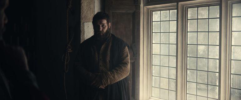 "Joel Edgerton como John Falstaff en ""El Rey""."