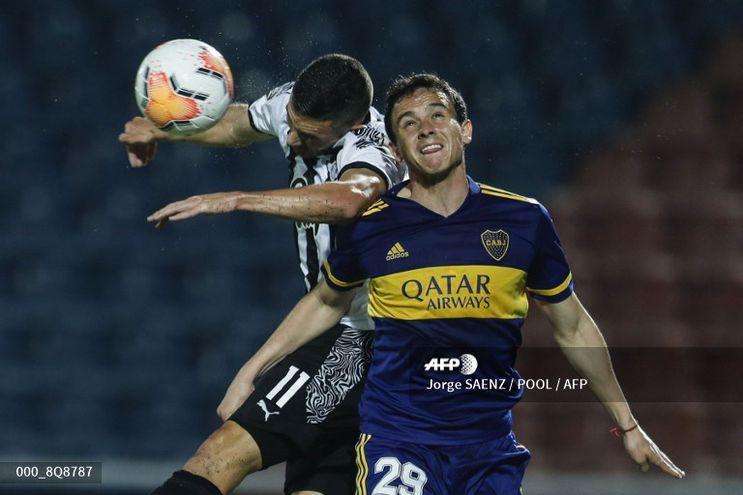 Libertad perdió ante Boca por la Libertadores.