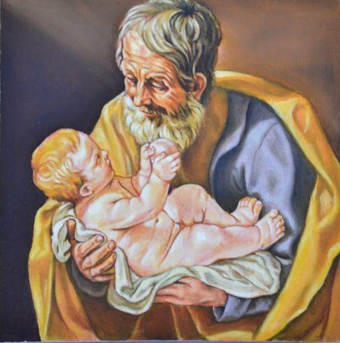 Una de las pinturas que podrá apreciarse en la exposición.