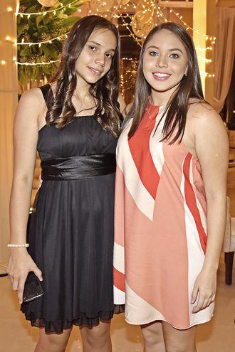 Vale Quiñónez y Gabriela Guanes.