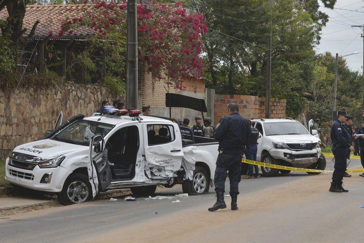 En el ataque hecho para permitir la huida de Samura fue asesinado el comisario Félix Ferrari, quien recibió un tiro de fusil en la espalda.