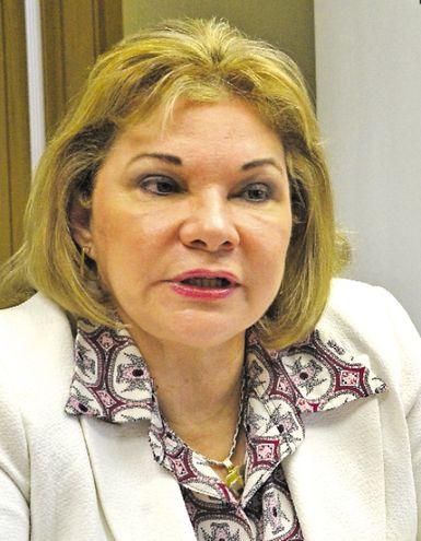 Marta González Ayala, exviceministra de Tributación.