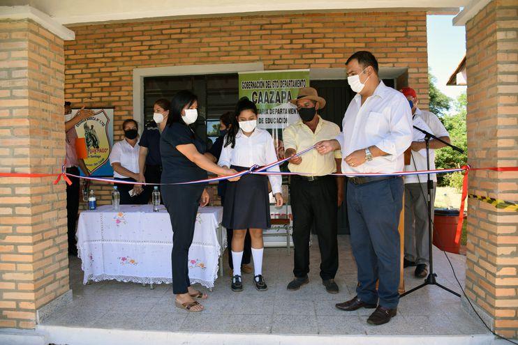 Escuelas de San Juan Nepomuceno recibieron mejoras edilicias.