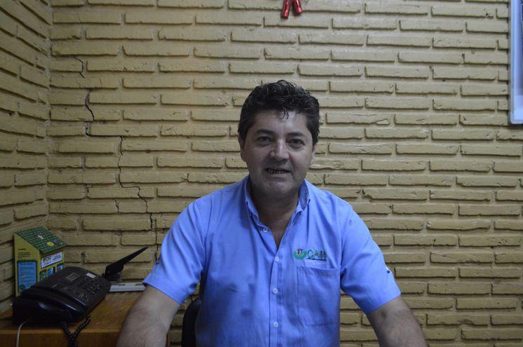 Pedro Adolfo Lezcano, jefe del CAH de Horqueta.