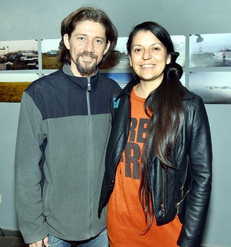Andrés Benítez y Analía Marchi.
