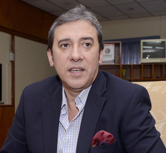 Rogelio Benítez, embajador de Paraguay en Uruguay.