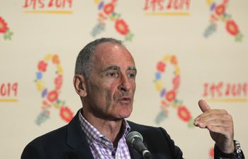 Massimo Ghidinelli, jefe de la Unidad de VIH, Hepatitis, Tuberculosis e Infecciones de Transmisión Sexual de la OPS/OMS participa en la 10 Conferencia Mundial Científica sobre VIH (IAS 2019) este martes, en Ciudad de México (México).