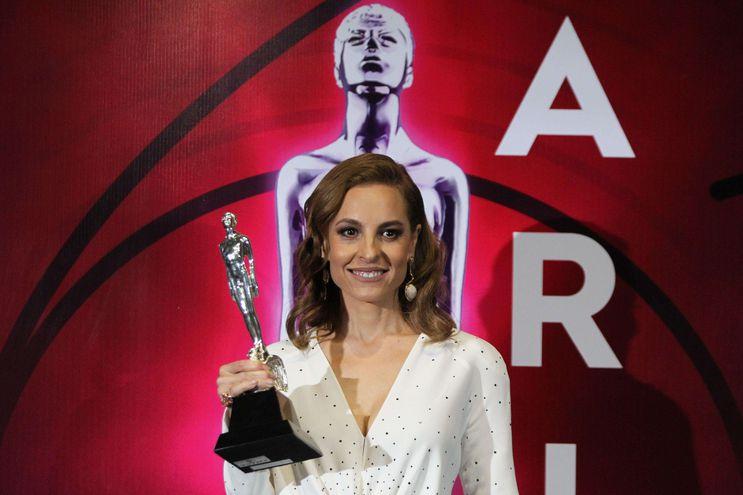 """La actriz mexicana Marina de Tavira, que fue nominada a un Óscar este año por """"Roma""""."""