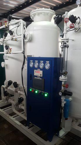 Inauguran planta productora de oxígeno medicinal en el Hospital de Villa Elisa.