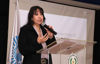 Ing. Lira Giménez, titular del INTN