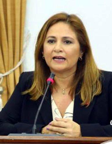 Lorena Segovia, ministra de la Defensa Pública. En julio cobró casi G. 20 millones en viáticos.